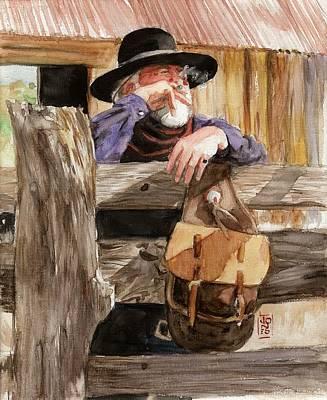 Debra Jones Painting - Smoke by Debra Jones