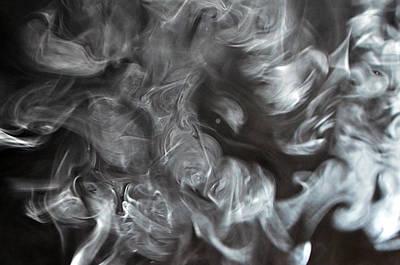 Railroad - Smoke Faces 02 by Alfredo Martinez
