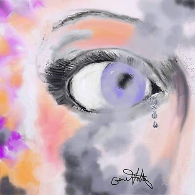Painting - Smoke In Her Eyes by Eugene Foltuz