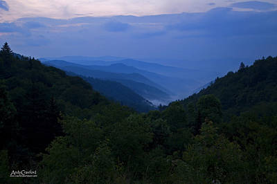 Photograph - Smoke In The Mountains by Andy Crawford