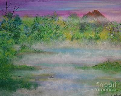 Painting - Smoke On The Water by Denise Tomasura
