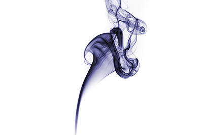 Smoke Pattern Art Print