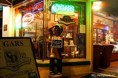 Smoke Shop Art Print