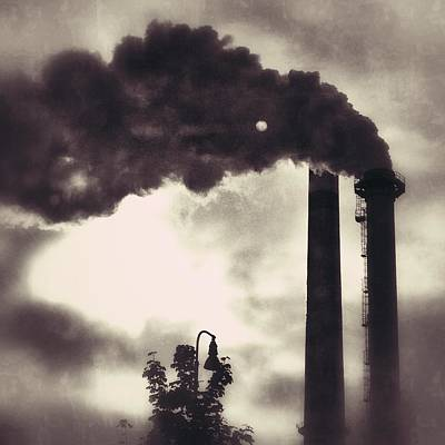 Smoke Stack Art Print