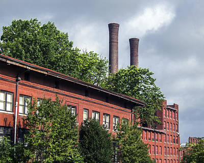 Photograph - Smoke Stacks by Lisa and Norman  Hall