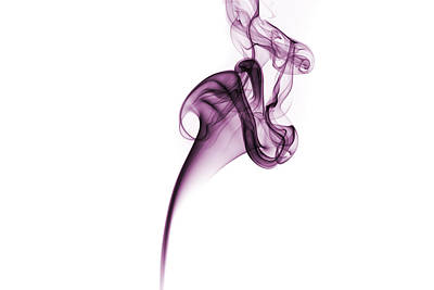 Photograph - Smoke Swirl by David Barker