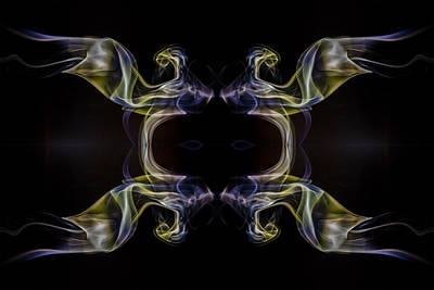 Smoke Photograph - Smoke4444 by Cj Avery