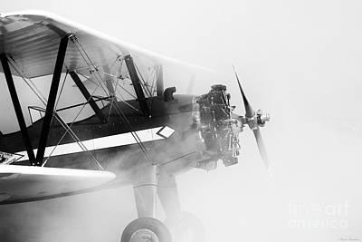 Smoked Engine Art Print by Mkaz Photography