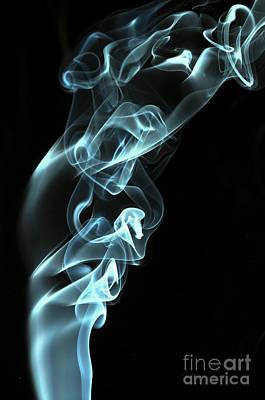 Algorithmic Photograph - Smokey 8 by Steve Purnell