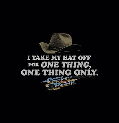 Reynolds Digital Art - Smokey And The Bandit - Hat by Brand A