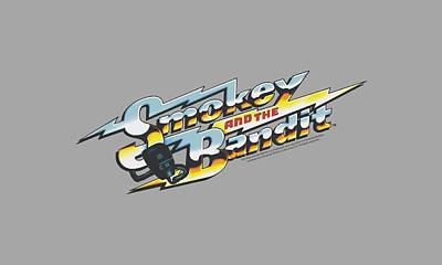 Reynolds Digital Art - Smokey And The Bandit - Logo by Brand A