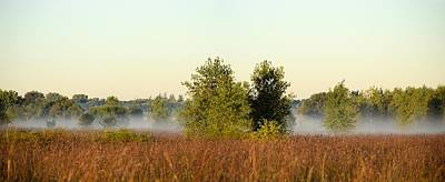 Photograph - Smokey Autumn Prairie by Bonfire Photography