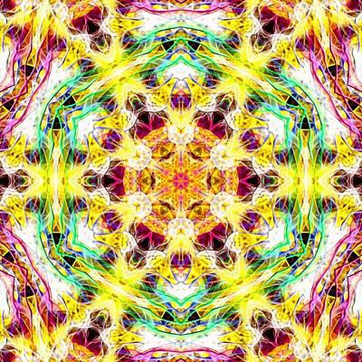 Digital Art - Smokey Rainbow by Derek Gedney