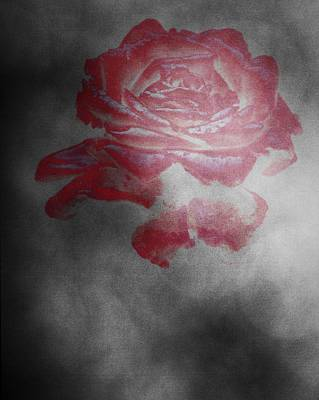 Smokey Rose Art Print