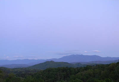 Smokies At Dusk Art Print