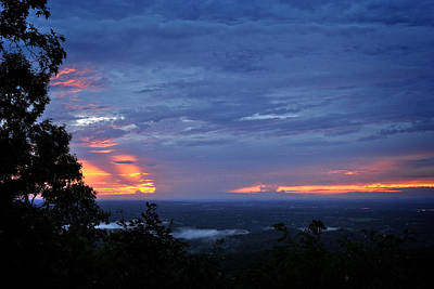 Photograph - Smokies Sunset 4 by George Taylor