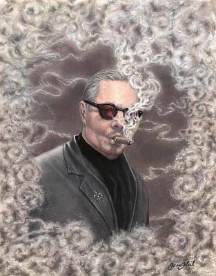 Smoking Up A Storm Art Print