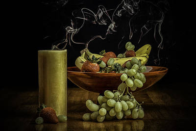 Smokin' Bowl Art Print by PhotoWorks By Don Hoekwater