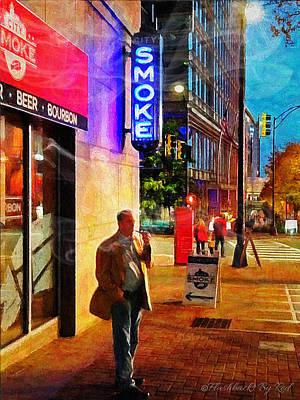 Painting - Smokin' by Melody McBride