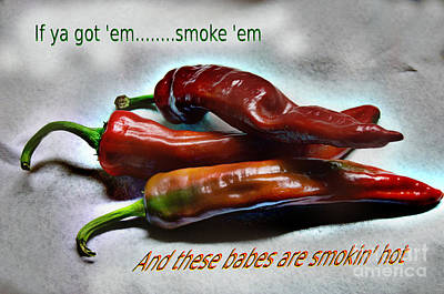 Smokin' Art Print by The Stone Age
