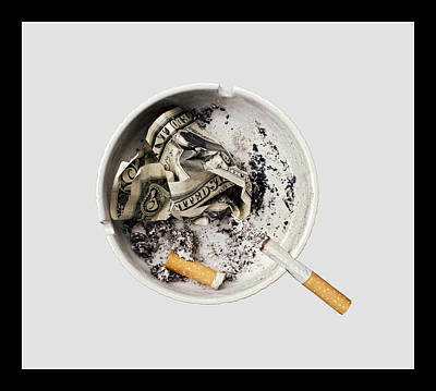 Photograph - Smoking Also Kills Your Pocket And Fills The Politicians' by Juan Carlos Ferro Duque