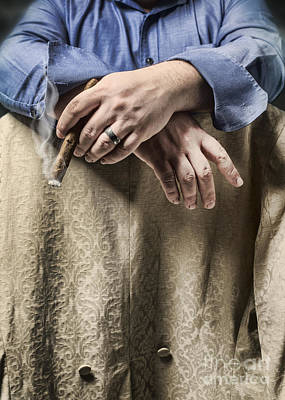 Wedding Ring Photograph - Smoking by Amanda Elwell