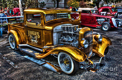 Smoking Ford Art Print by Tommy Anderson