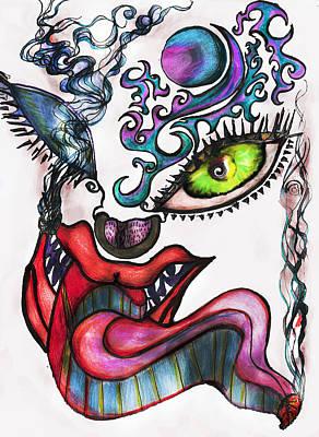 Smoking Art Print by Tiffany Selig