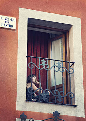Photograph - Smoking Woman by Angela Bonilla