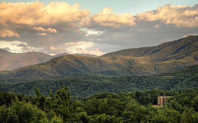 Photograph - Smoky Mountain Afternoon by Coby Cooper