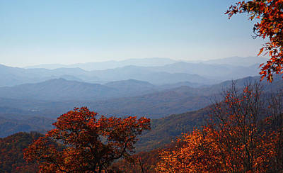 Photograph - Smoky Mountain Colors by Jean Clark