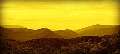 Smoky Mountain Glow Art Print by Stephen Stookey