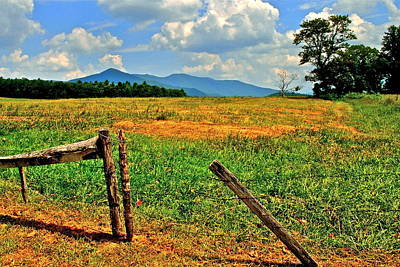 Tennesee Photograph - Smoky Mountain National Park by Frozen in Time Fine Art Photography