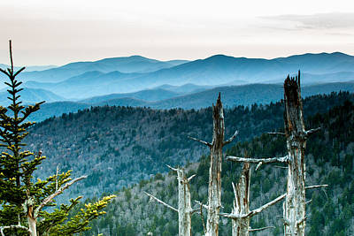 Smoky Mountain Overlook Art Print