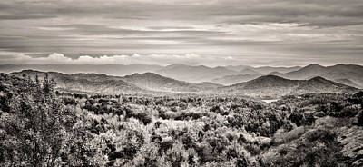 Tennessee Photograph - Smoky Mountain Panorama by Heather Applegate