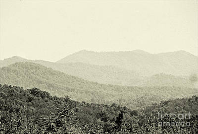 Photograph - Smoky Mountain Range by Anita Lewis