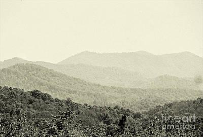 Photograph - Smoky Mountain Range by Anita Lewis