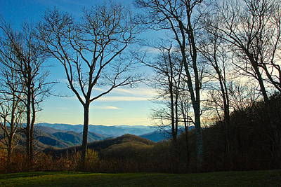 Art Print featuring the photograph Smoky Mountain Splendor by Dee Dee  Whittle