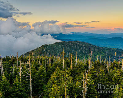 Photograph - Smoky Mountain Sundown by Anthony Heflin
