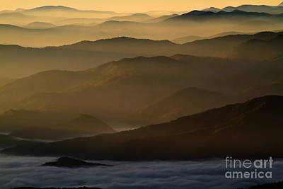 Photograph - Smoky Mountain Sunrise by Dennis Hedberg