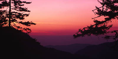 Photograph - Smoky Mountain Sunset by Harold Rau