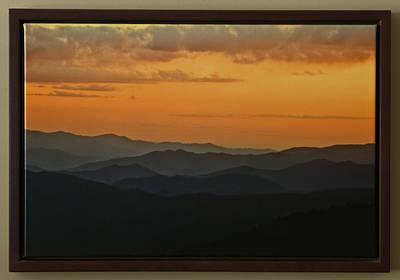 Photograph - Smoky Mountain Sunset by Rick Hartigan