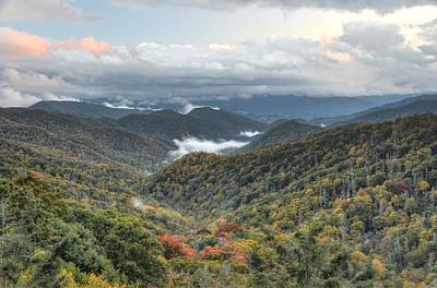 Photograph - Smoky Mountain Twilight by Mary Anne Baker