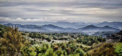 Photograph - Smoky Mountain Valley by Heather Applegate