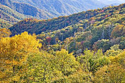 Photograph - Smoky Mountain Valley by Simply  Photos