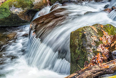 Photograph - Smoky Mountain Stream 5 by Victor Culpepper