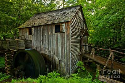 Photograph - Smoky Mountains Grist Mill by Adam Jewell