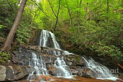 Photograph - Smoky Mountains Laurel Falls Landscape by Adam Jewell