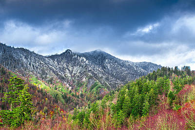 Photograph - Smoky Mountains by Mary Almond