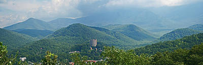 Photograph - Smoky Mountains Panoramic by Gene Berkenbile